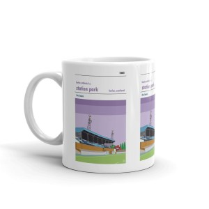 A tea cup of Station Park and Forfar Athletic fc