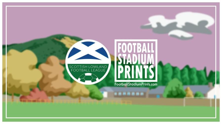 SLFL 2019/20. Football Stadium Prints Lowland League products