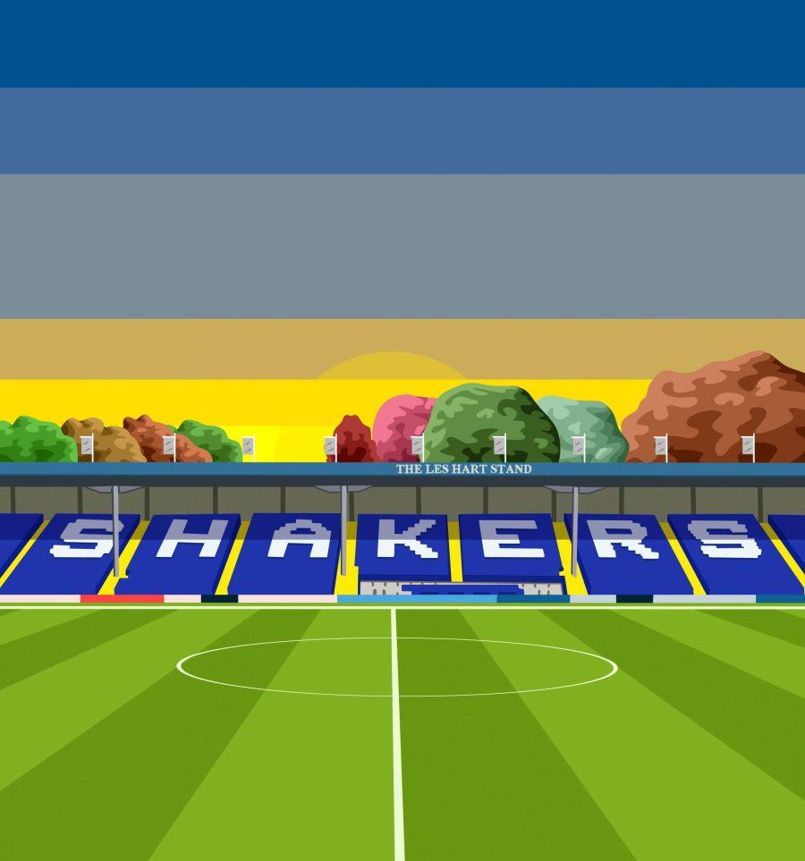 Bury FC Merchandise design