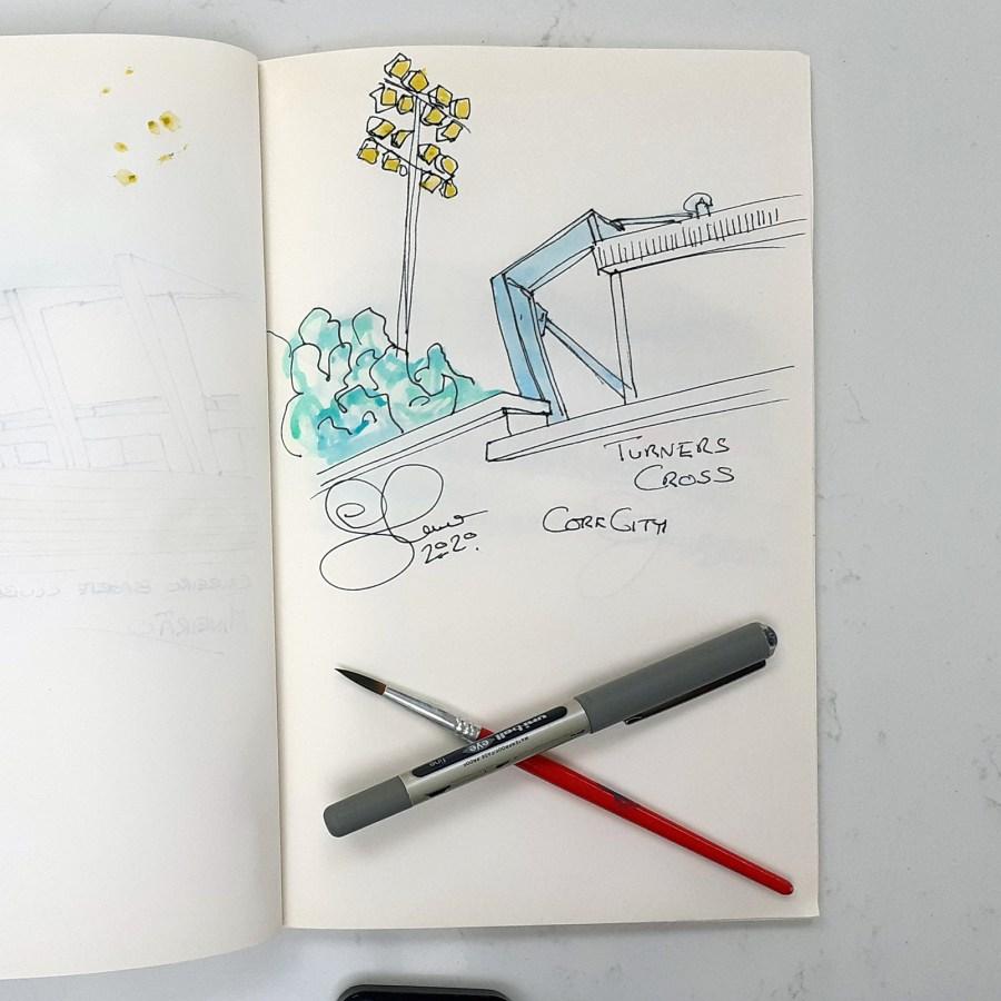 Turners Cross sketch by Steve Stewart