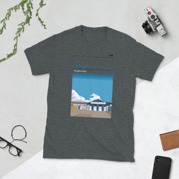 Dark grey Links Park and Montrose FC t-shirt