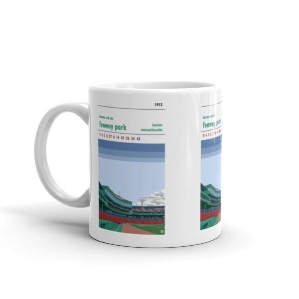 Fenway Park and Boston Red Sox Mug