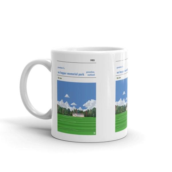 Greenlaw FC and Happer Park Mug