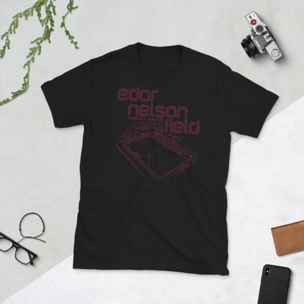 Black Augsburg Soccer T-Shirt
