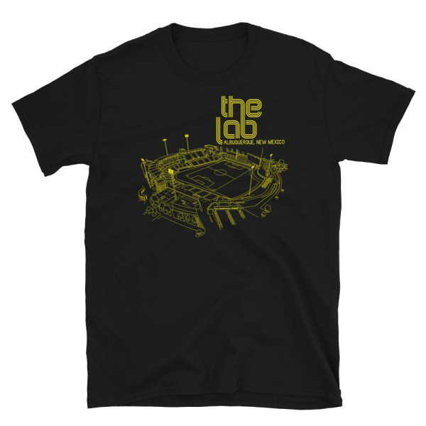 Black New Mexico United and The Lab T-Shirt