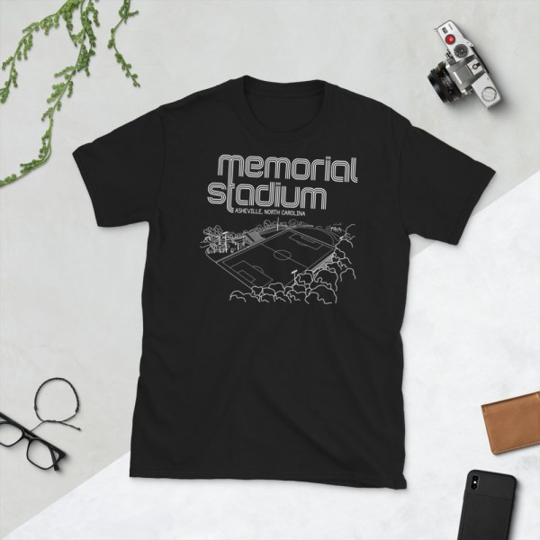 Black Memorial Stadium and Asheville City SC T-Shirt