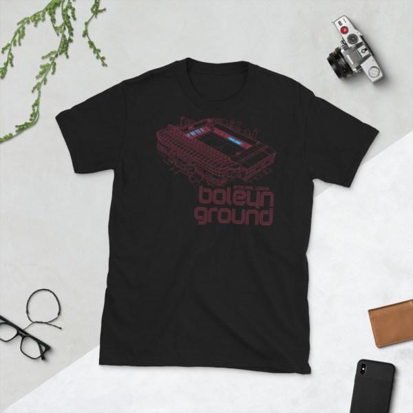 Black West Ham United and Boleyn Ground T-Shirt