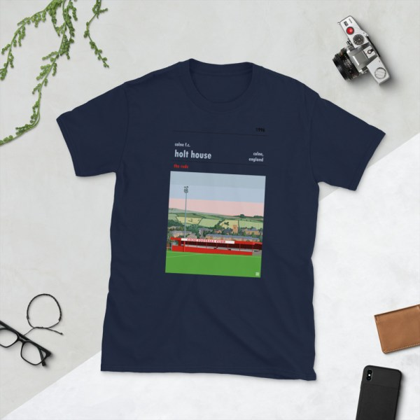 Navy Colne FC and Holt House T-Shirt