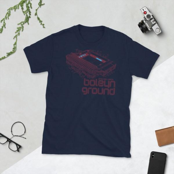 Navy West Ham United and Boleyn Ground T-Shirt