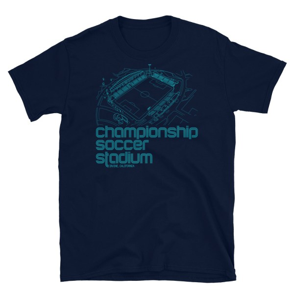 Cal United Strikers and Championship Soccer Stadium Tee