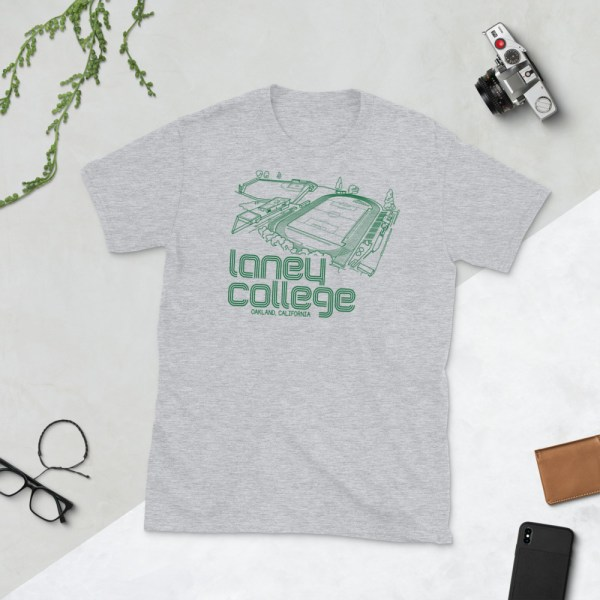 Gray Laney Community College Oakland Roots T-Shirt