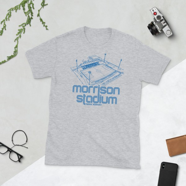 Gray Morrison Stadium home to Creighton BlueJays Soccer Team T-Shirt