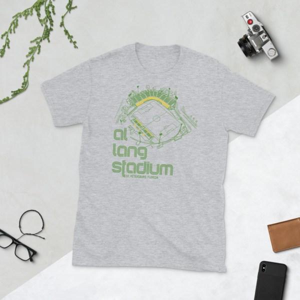 Gray Al Lang Stadium and Tampa Bay Rowdies T-Shirt