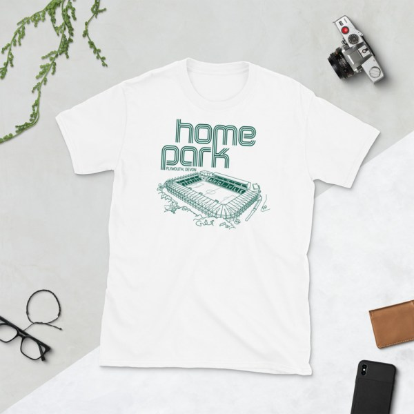 White Home Park and Plymouth Argyll FC T-Shirt