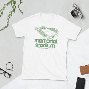 Memorial Stadium and Savannah Clovers Football Club T-Shirt