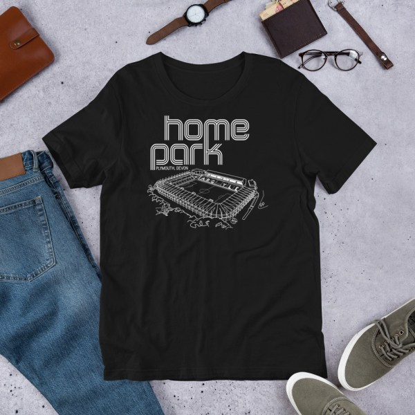 BLack Home Park and Plymouth Argyll FC T-Shirt