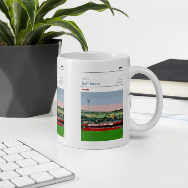 Colne FC and Holt House mug