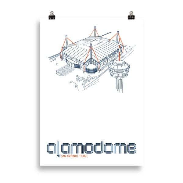 Massive Alamodome and UTSA Roadrunners print