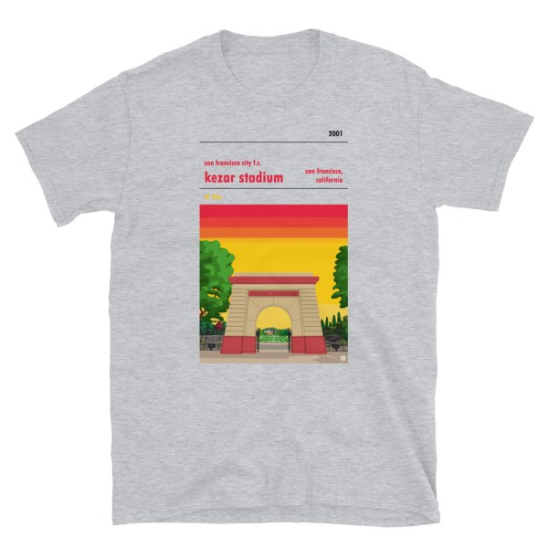 San Francisco City and Kezar Stadium T-Shirt