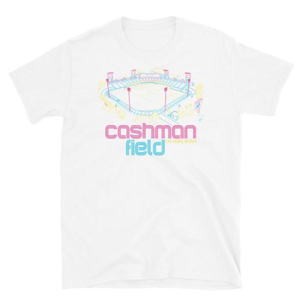Cashman Field and Las Vegas Lights FC T-Shirt