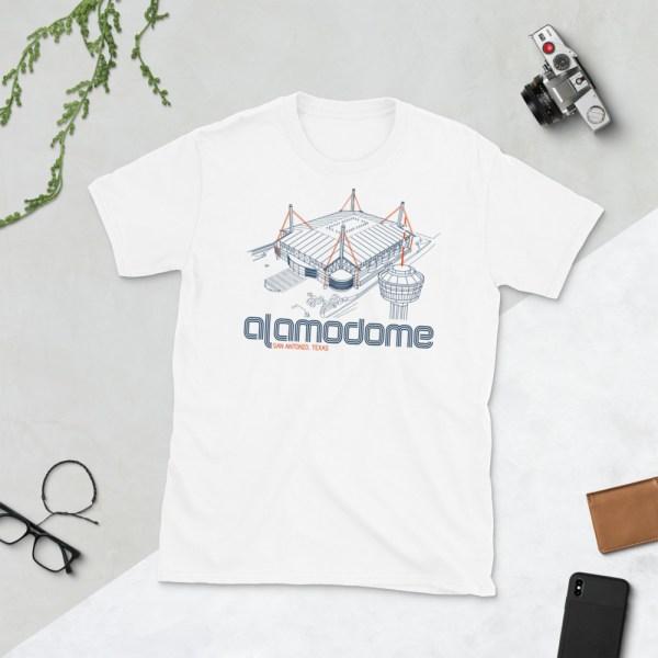 White Alamodome and UTSA Roadrunners T-Shirt