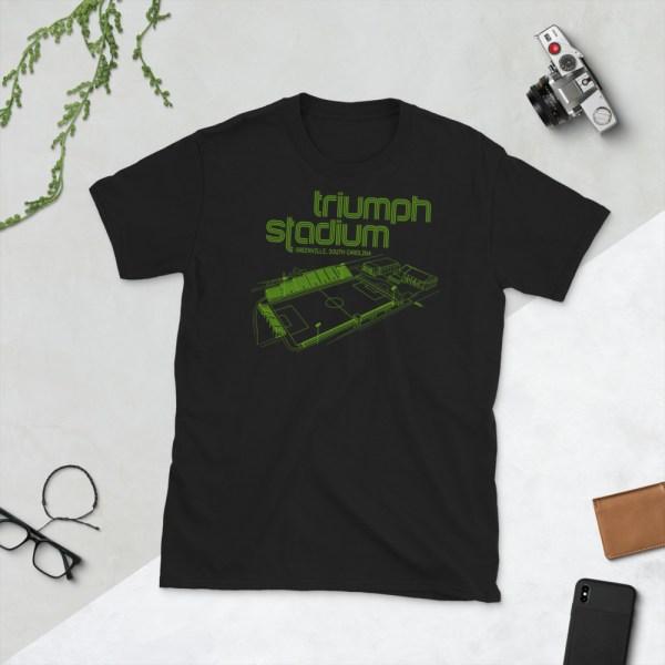 Black Greenville Triumph T-Shirt