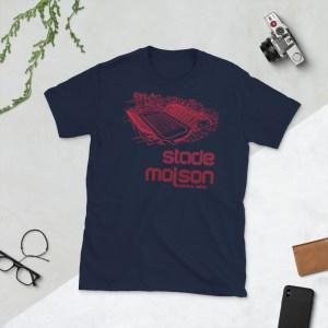 Navy Alouettes de Montreal t-shirt