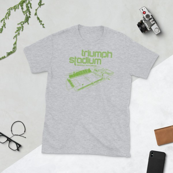 Gray Greenville Triumph T-Shirt