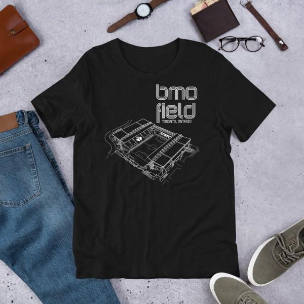Black BMO Field T-shirt
