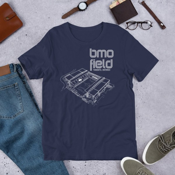 Blue BMO Field T-shirt