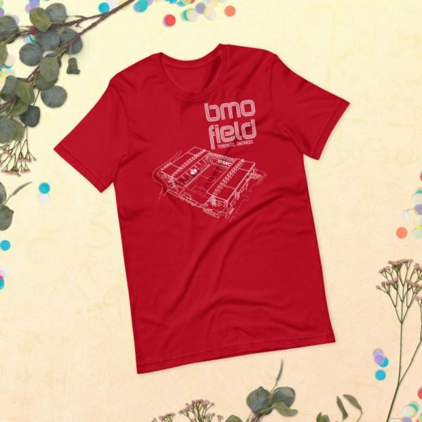 Red BMO Field T-shirt