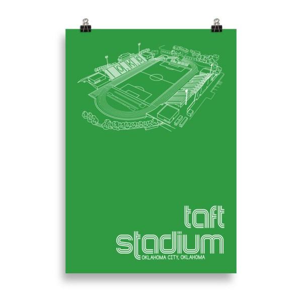 Massive Taft Stadium and OKC Energy FC Soccer Print