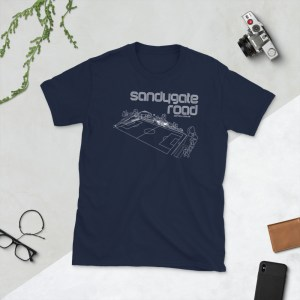 Navy Sandygate Roand and Hallam FC T-Shirt