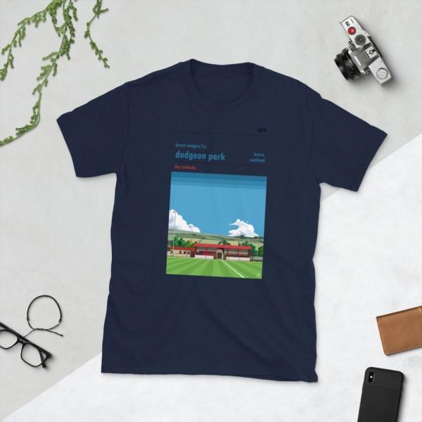 Navy Dudgeon Park and Brora Rangers T-Shirt