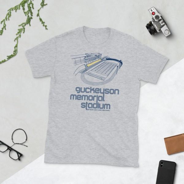 Gray B-CC Barons T-Shirt