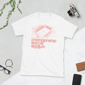 White Orange County SC T-Shirt