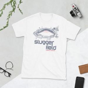 White Slugger Field and Louisville Bats T-Shirt