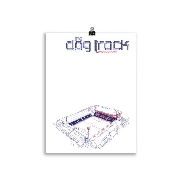 Ted Lasso AFC Richmond and Dog Track Football Print