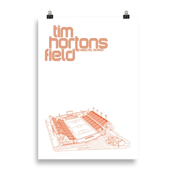 Massive Tim Hortons Field and Forge FC Football Poster