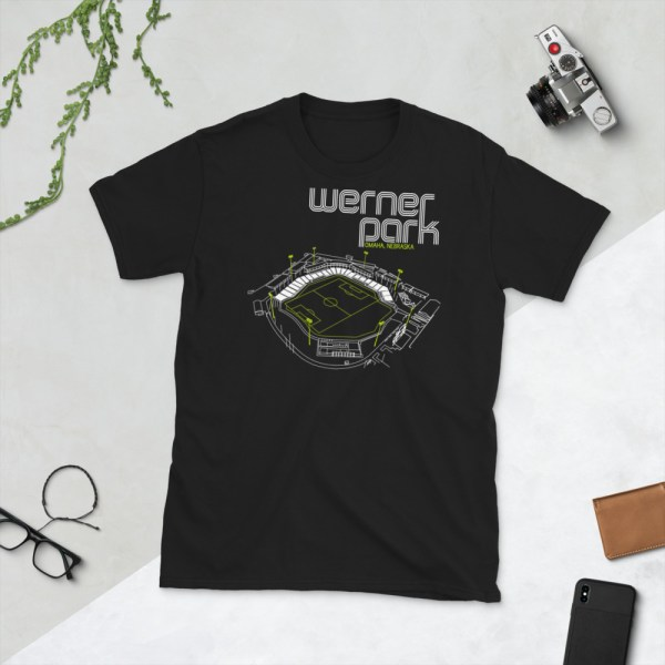 Black Union Omaha and Werner Park T-Shirt