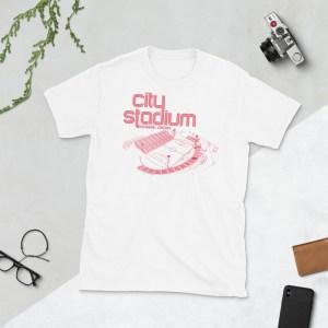 White Richmond Kickers and City Stadium t-shirt