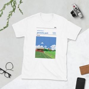 White Larkhall Thistle and Gasworks Park T-Shirt
