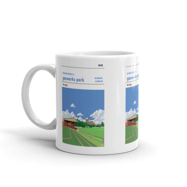 Larkhall Thistle and Gasworks Park mug