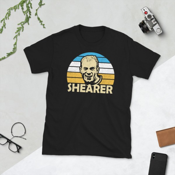 Black Alan Shearer T-Shirt