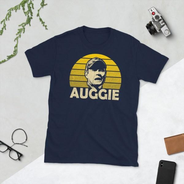 Navy Auggie Charleston Battery T-Shirt