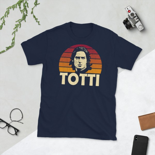 Navy Francesco Totti T-Shirt