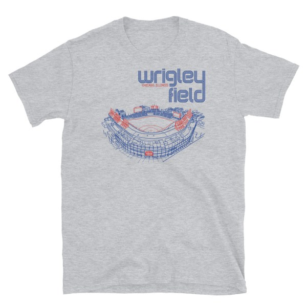 Wrigley Field and Chicago Cubs T-Shirt