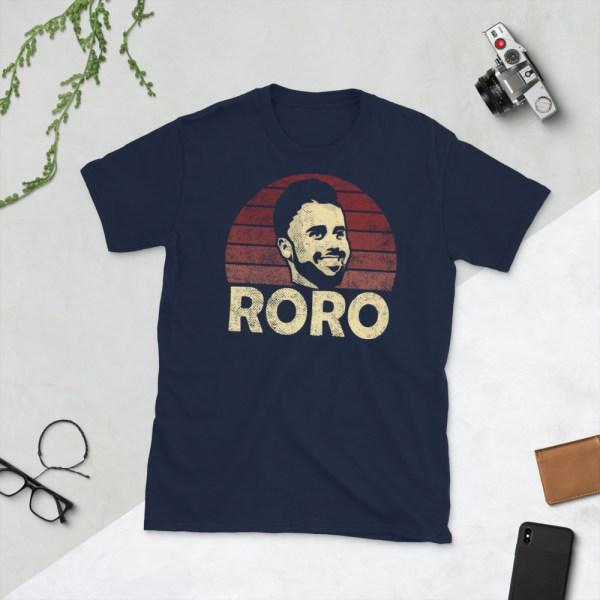 Navy Rodrigo Roro Lopez T-Shirt