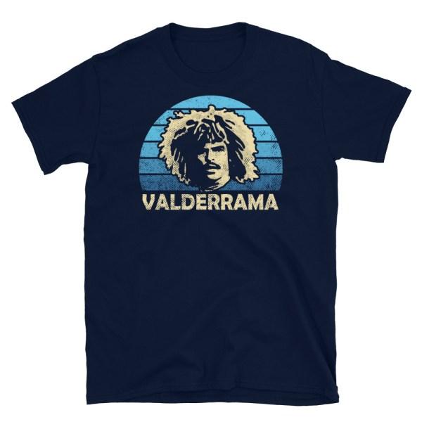 Carlos Valderrama and Tampa Bay Mutiny T-Shirt
