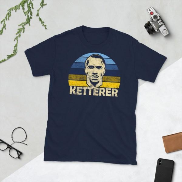 Navy Logan Ketterer and El Paso Locomotive T-Shirt